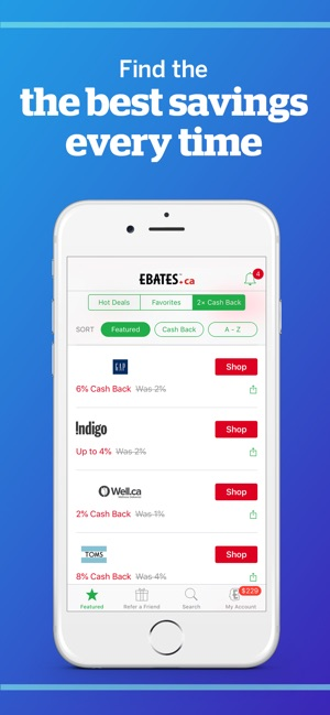 Rakuten Ebates: Cash Back App on the App Store