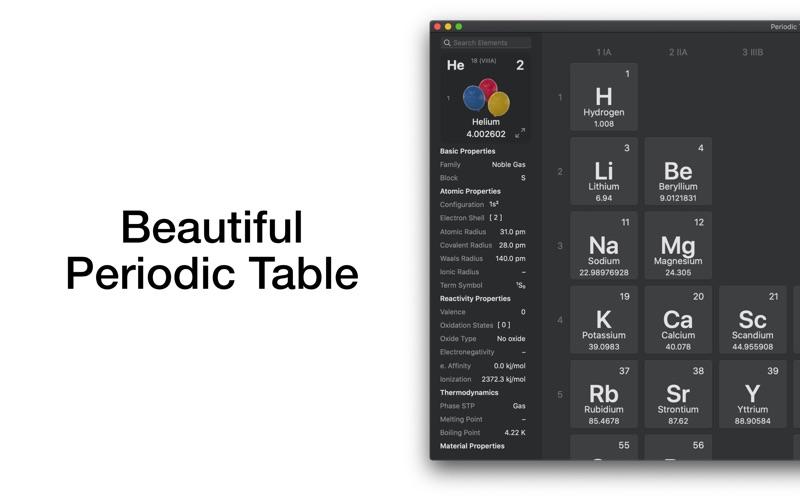 Periodic Table Chemistry 4 Si screenshot 2