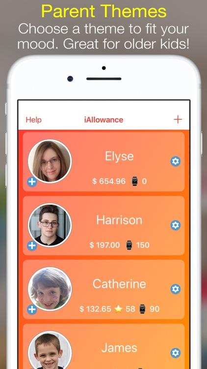 iAllowance (Chores Allowances) screenshot-5