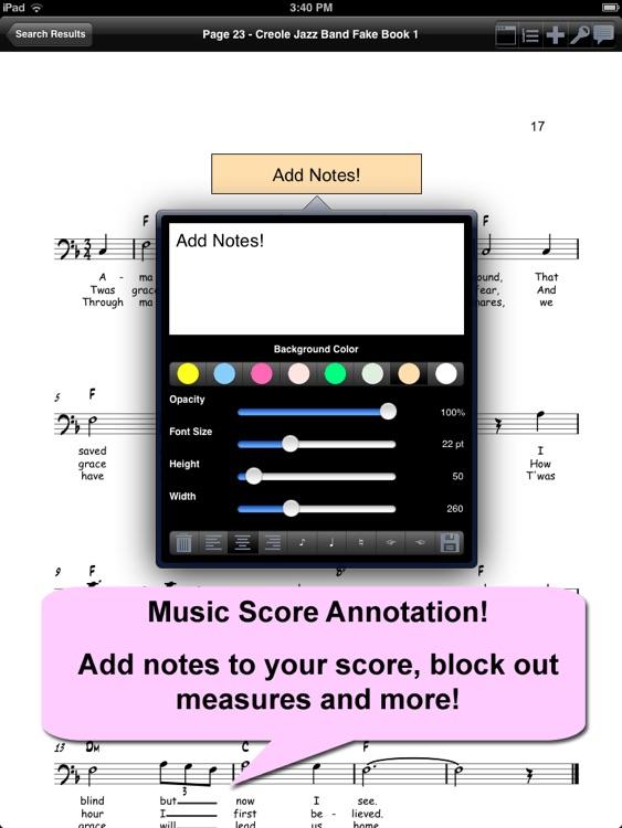 iGigBook Sheet Music Manager 7 screenshot-3