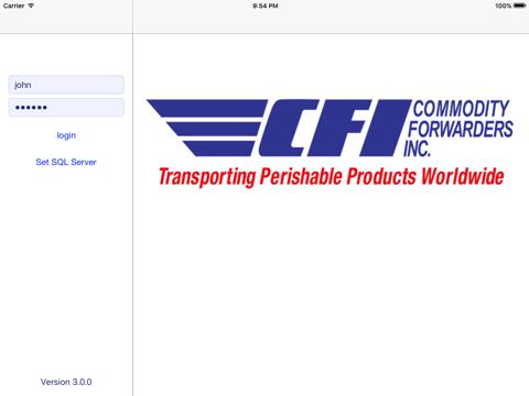 Screenshot of CFI QC