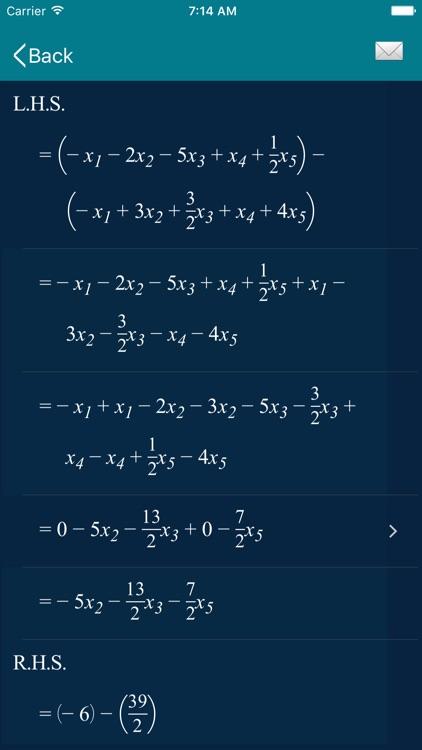 Math Equation Solver - ESolver screenshot-9