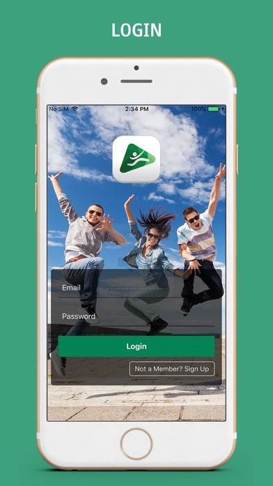 Jump Media App screenshot one