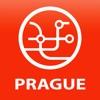 城市交通地图布拉格