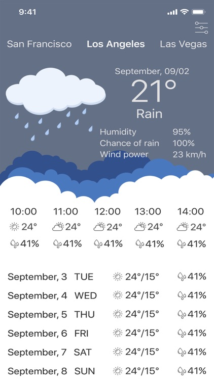 My Weather - Forecast App screenshot-3