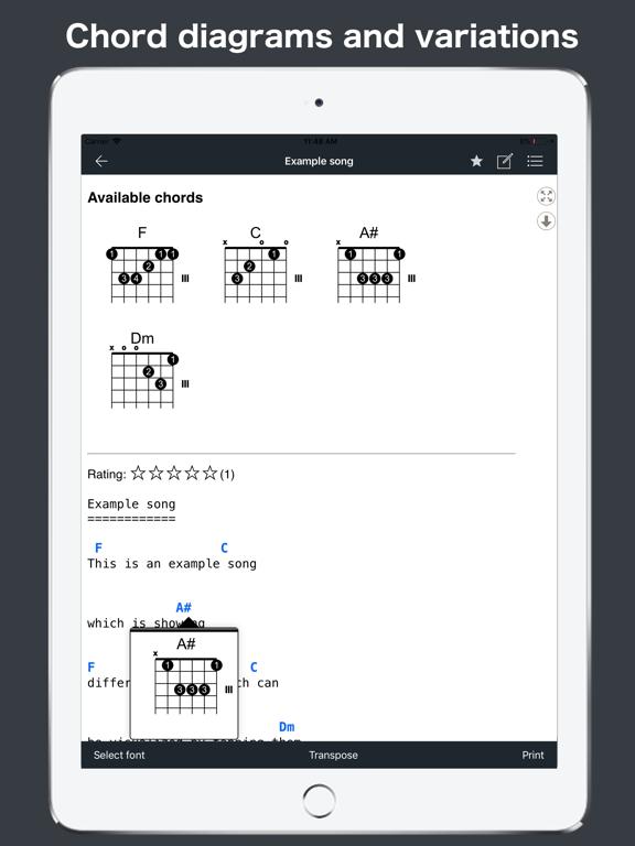 GuitarTab - Tabs & chords Pro screenshot