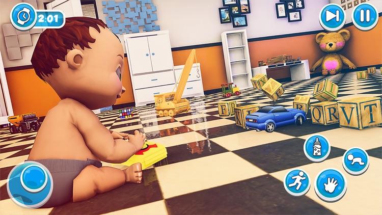Dream Family Sim -Mommy & Baby screenshot-4