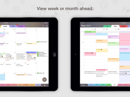 Planner Pro - Daily Calendar, Task Manager & Personal Organizer screenshot