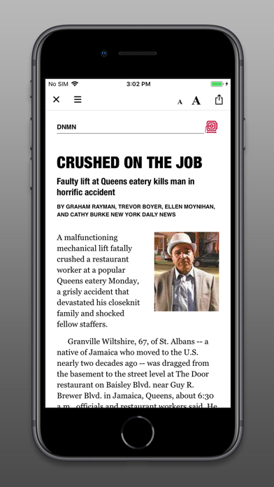 Daily News - Digital Edition Screenshot
