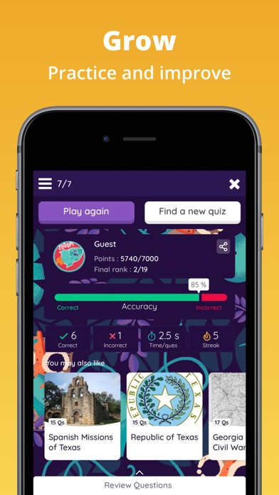 Quizizz: Play to Learn app image
