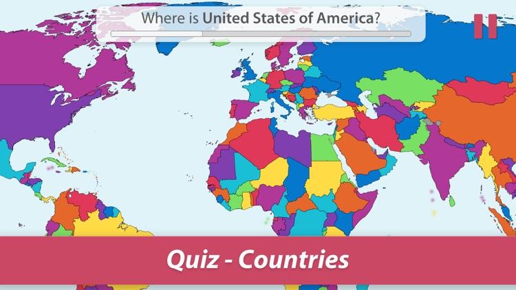 StudyGe-World map geography screenshot-0