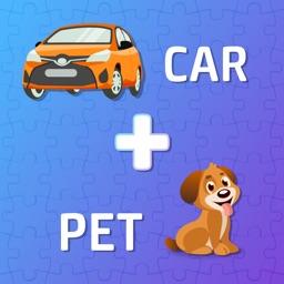 Pics 2 Word Combine Puzzle