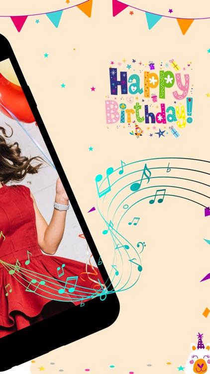 Birthday Movies Maker Song screenshot-8