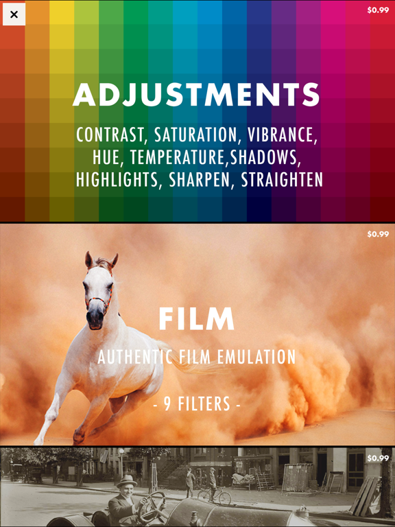 Chromic - Video Filters, Vintage, Effects, Editor screenshot