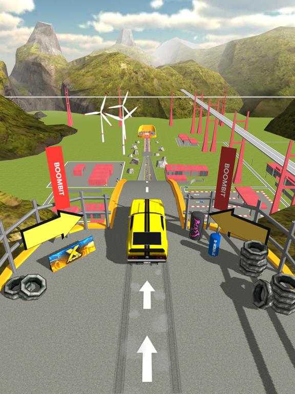 坂を使ってカージャンプのおすすめ画像1