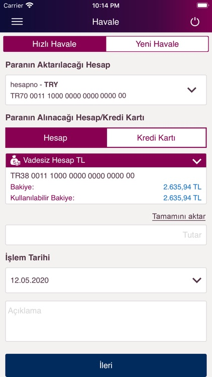 QNB Finansbank Mobile Banking screenshot-4
