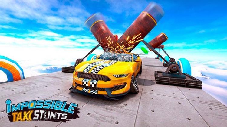 Ramp Car Jump: Sky Escape screenshot-5