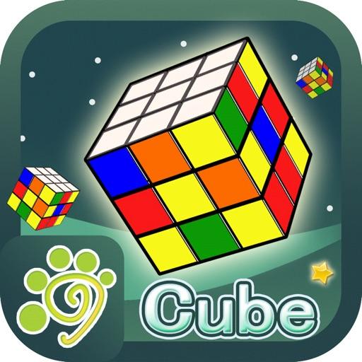 куб игры Рубика 3D головоломка