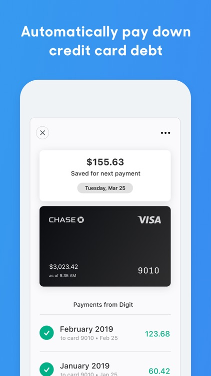 Digit: Save Money Effortlessly screenshot-3