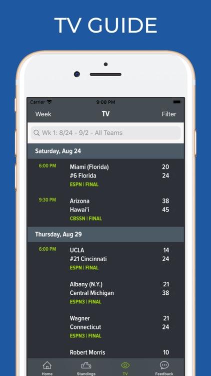 Texas Tech Football Schedules screenshot-6