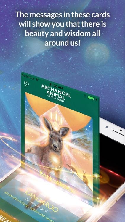 Archangel Animal Oracle Cards screenshot-3