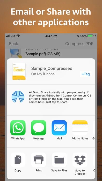 PDF Size Compressor screenshot-4