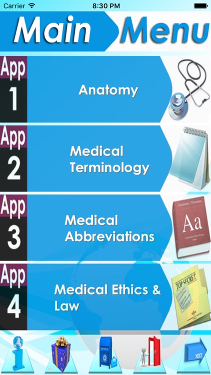 Anatomy & Physiology 4Apps In1