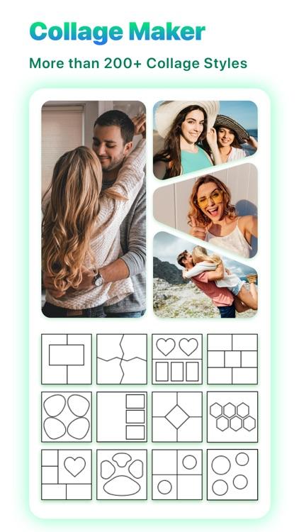 Photo Montage- Foto Grid maker screenshot-5