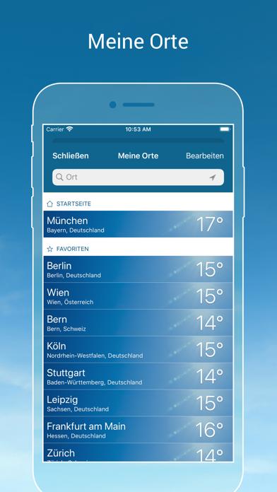 Wetter Online App Windows 10