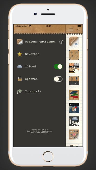 memono Notizen + TagebuchScreenshot von 4
