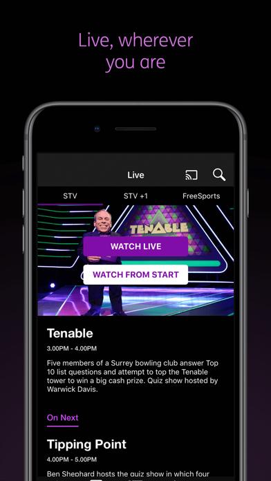 STV Player screenshot three