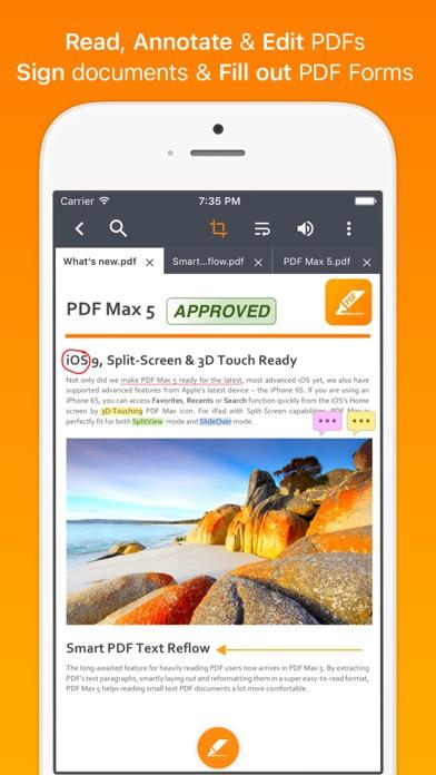 Screenshot #1 pour PDF Max - #1 PDF Reader App