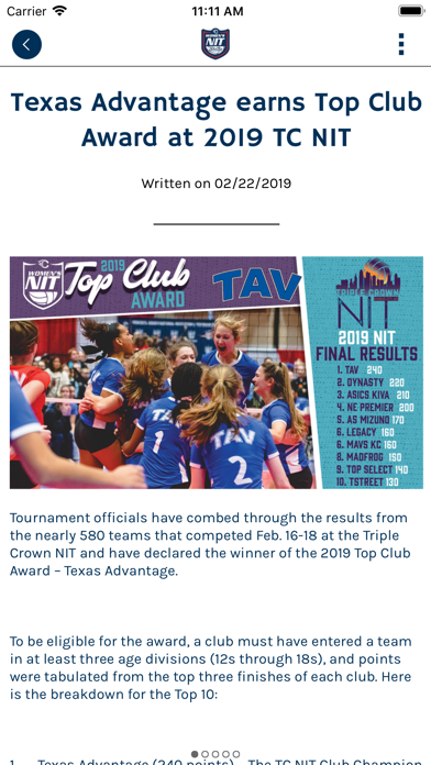 messages.download Triple Crown Volleyball software