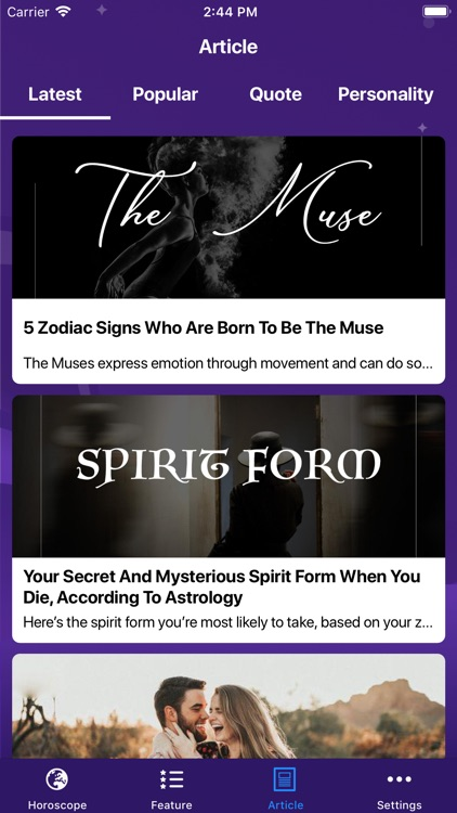 Daily Horoscope &Tarot Reading screenshot-4