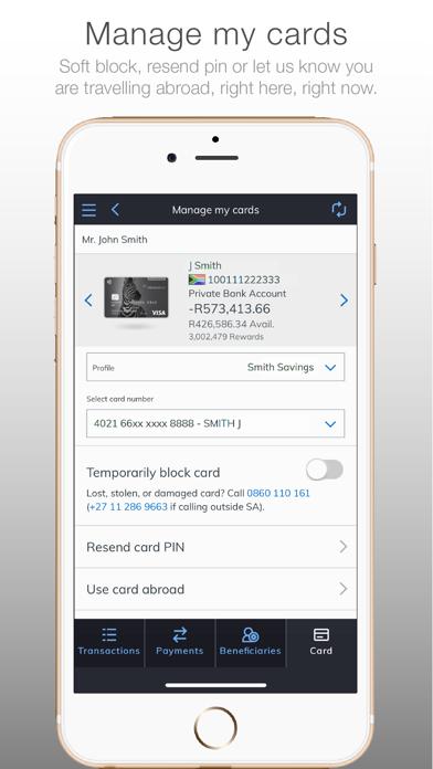 Investec screenshot three