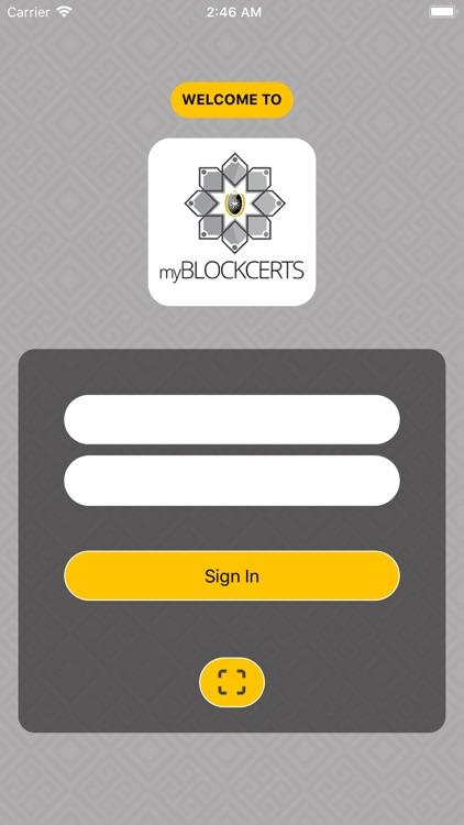 myBlockcerts