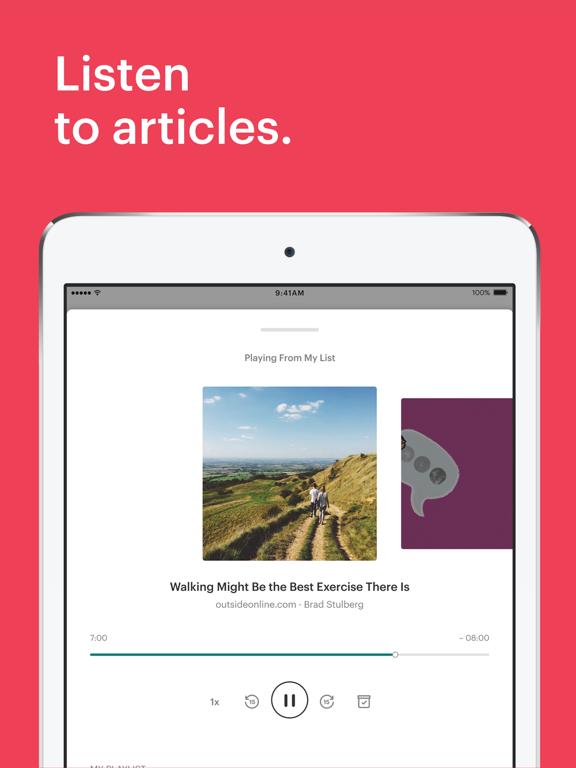 Pocket: Save. Read. Grow. Screenshot 3