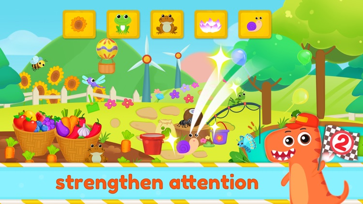Dinosaur Kids Logic Math Game2 screenshot-3