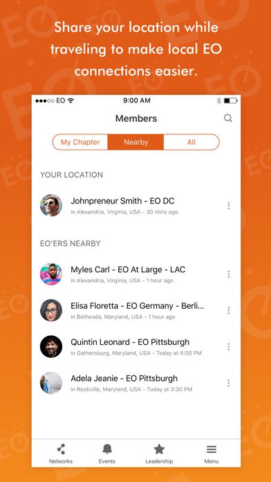 EO Network screenshot one