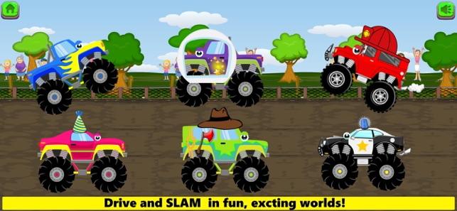 Monster Trucks Game Kids Full On The App Store