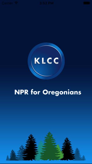 KLCC Public Radio App screenshot one