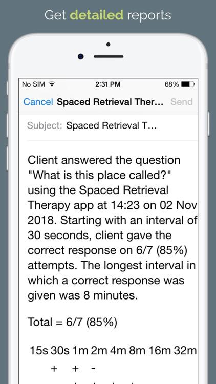 Spaced Retrieval Therapy screenshot-3