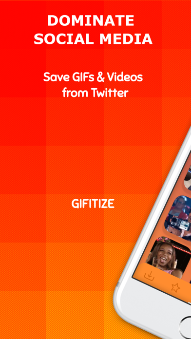 Gifitize — Save Twitter Gifs screenshot one