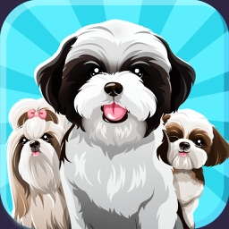 Shih Tzu Dog Emojis Stickers