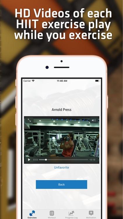 HIIT Gym Workouts For Men screenshot-3