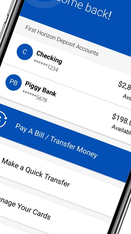 First Horizon Mobile Banking screenshot-1