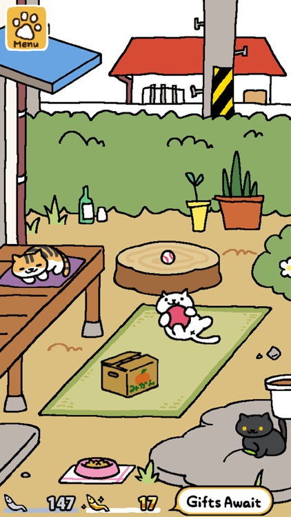 Neko Atsume: Kitty Collector screenshot-0