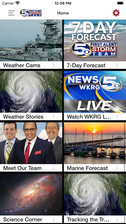 WKRG Weather screenshot-5