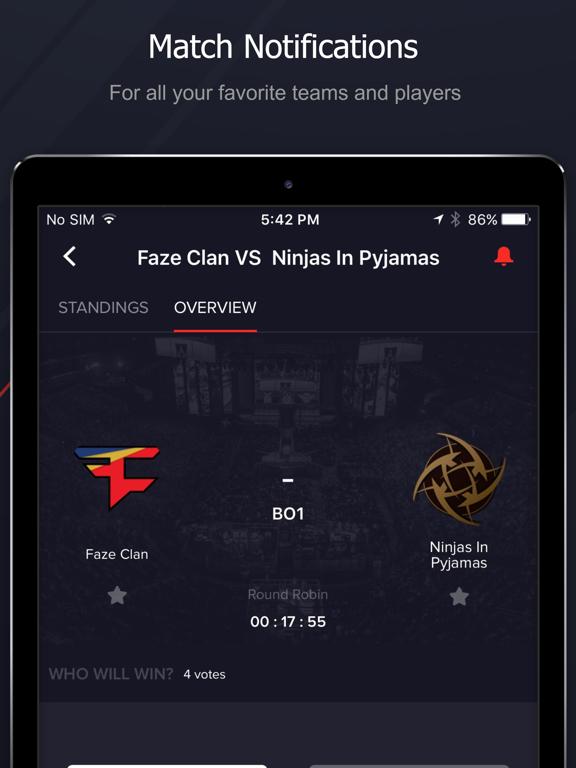 Screenshot #4 pour Upcomer Esports