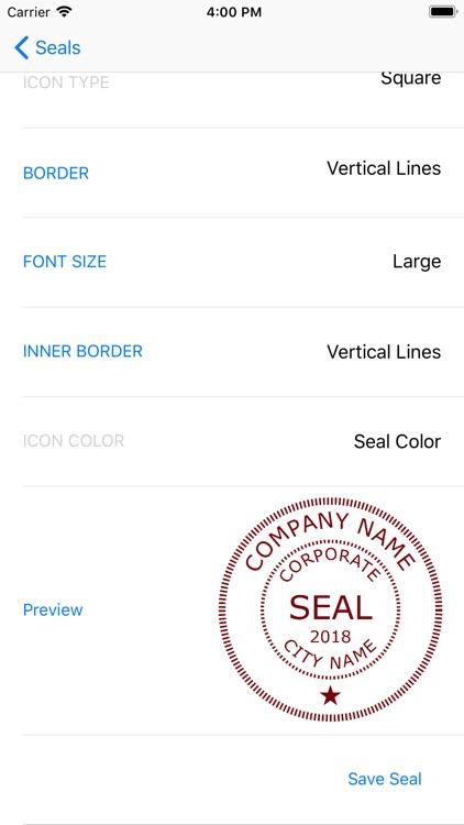 Company Seals screenshot-4